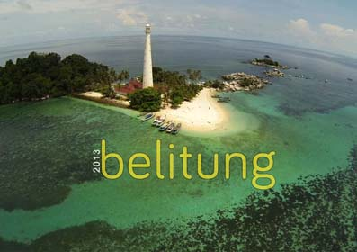 Aerial Video - Belitung Island