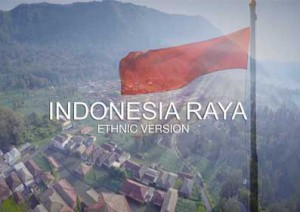 Indonesia Raya - ethnic Version