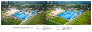 Aerial Photography Processed | Before AfterPT. Hansa Pratama1